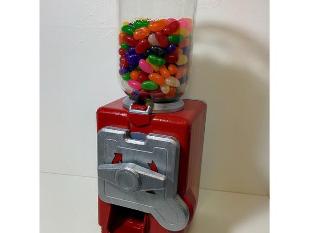 3D打印的糖果机 3D打印模型渲染图