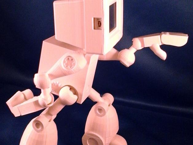 会跳舞的机器人模型