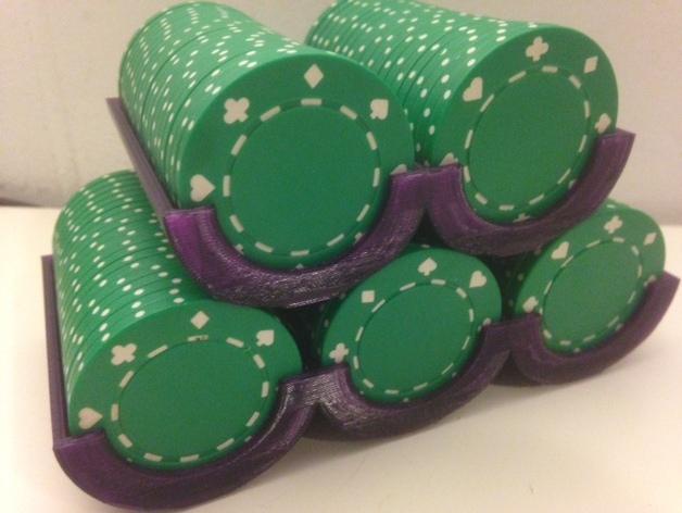 可定制化的扑克牌游戏筹码
