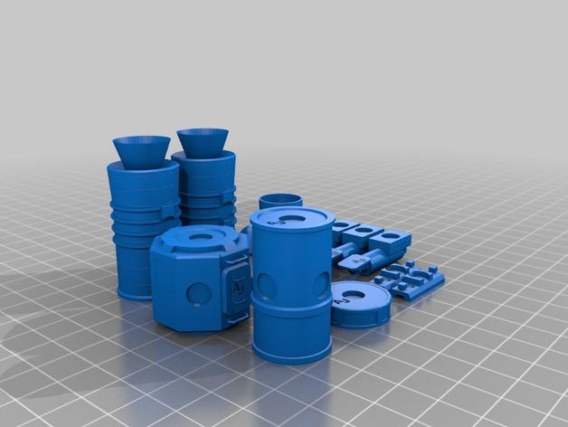 KSP磁力积木v1.04 3D打印模型渲染图