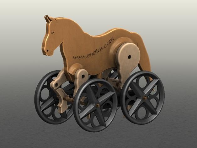 玩具马模型