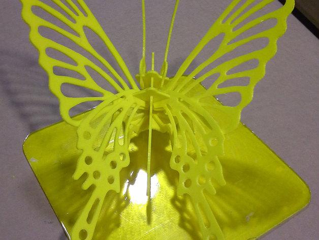 3D打印蝴蝶拼图 - 改良版