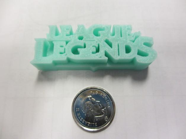 英雄联盟徽章 3D打印模型渲染图