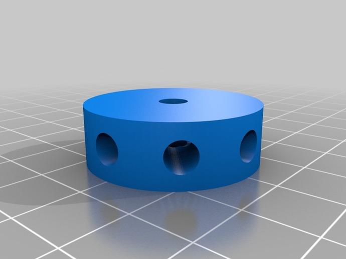磁蜗轮模型