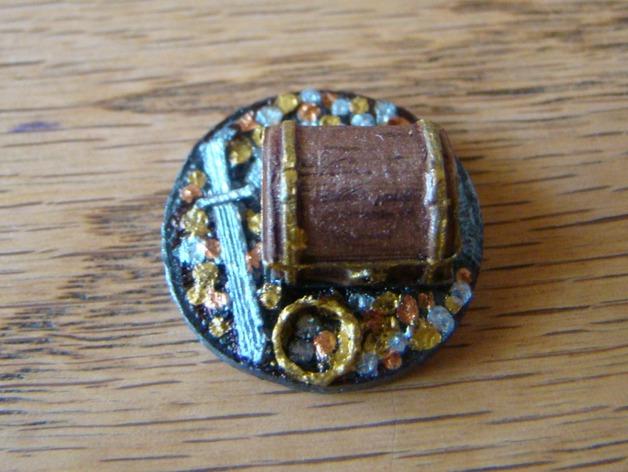 25毫米的迷你财宝箱V2