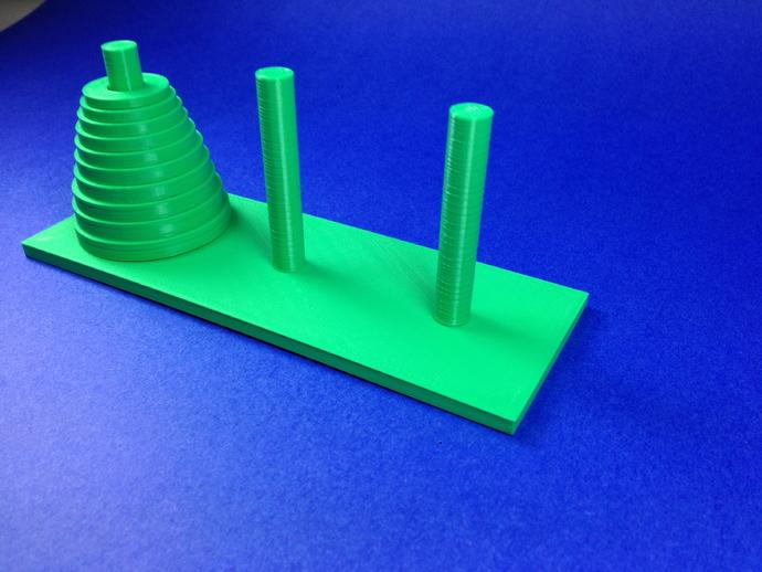 汉诺塔模型
