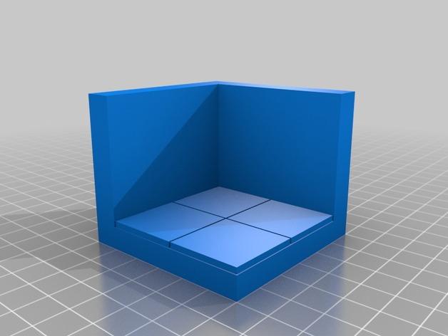 OpenForge边缘平滑的角砖