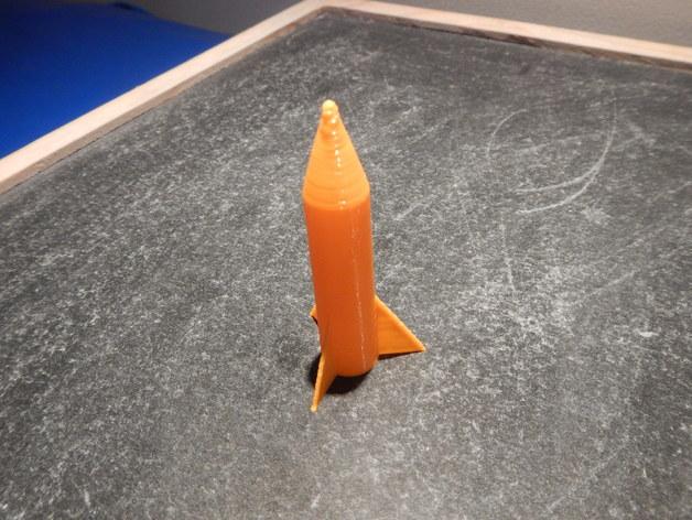 可定制化的迷你火箭模型