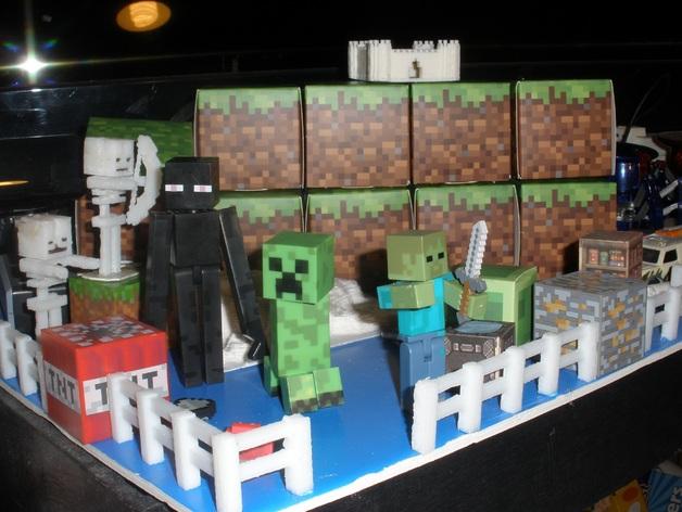 Minecraft 玩偶套件