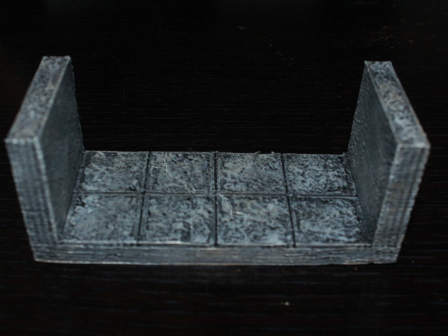 OpenForge边缘平滑的走廊模型 3D打印模型渲染图