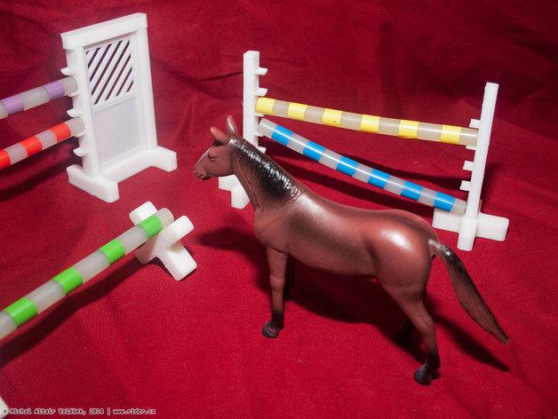 玩具马障碍物
