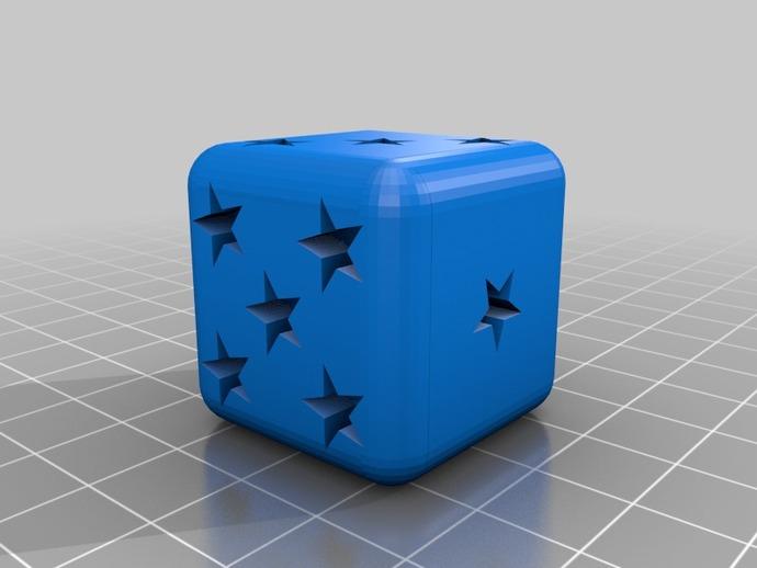 星形六面骰子