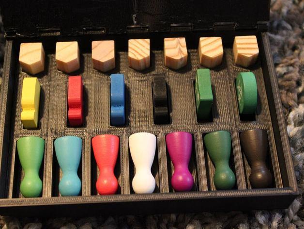 桌游小道具收纳盒