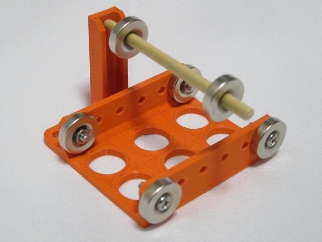 磁悬浮装置 3D打印模型渲染图