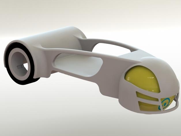 球形机车模型