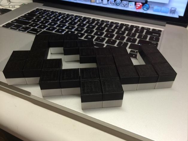蛇形立方体拼图