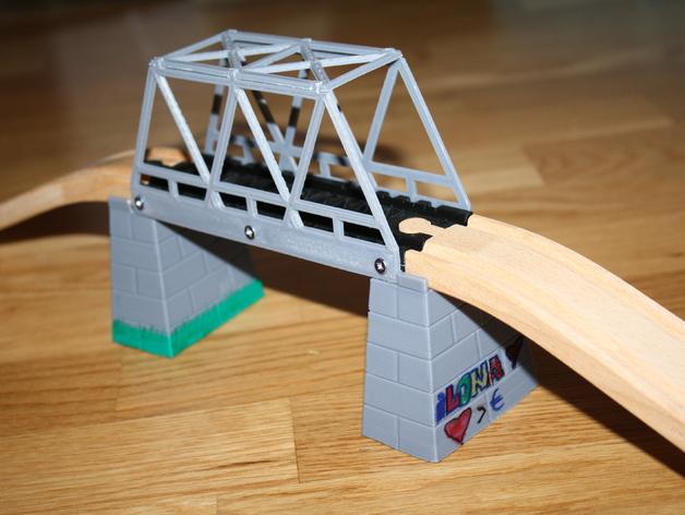 玩具火车桥