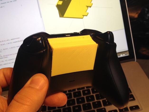 Xbox电池盖 3D打印模型渲染图