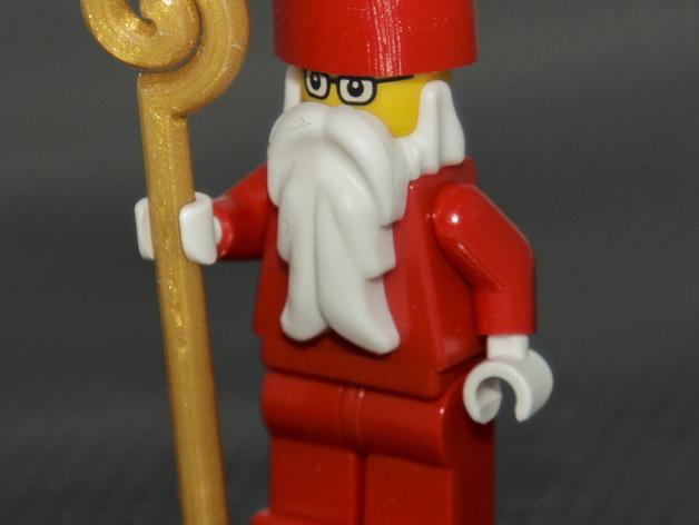乐高玩具圣诞老人 3D打印模型渲染图