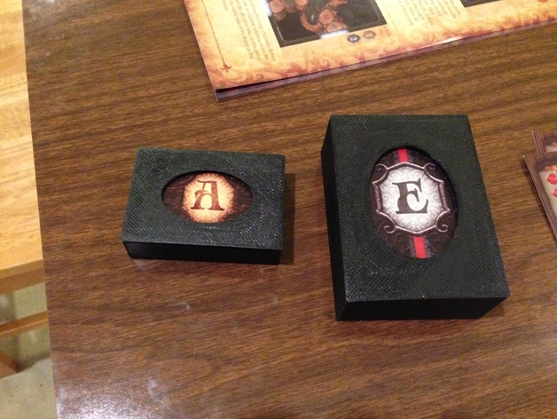 不同型号的游戏卡盒 3D打印模型渲染图
