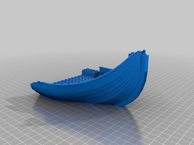 乐高加列战船