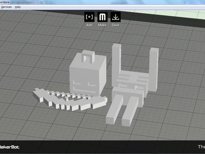 Minecraft骨架玩偶