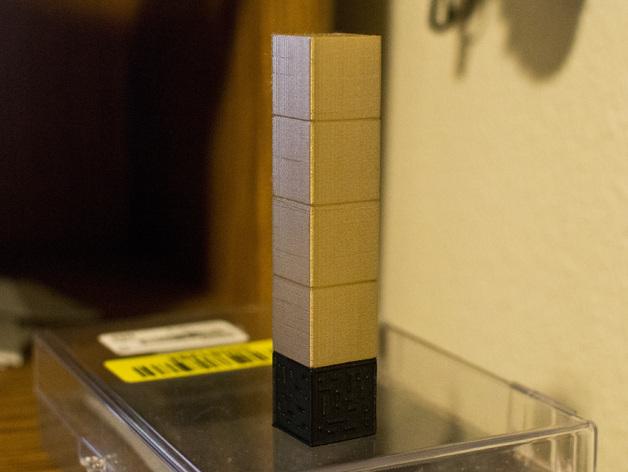 Minecraft:Pimp塔 3D打印模型渲染图