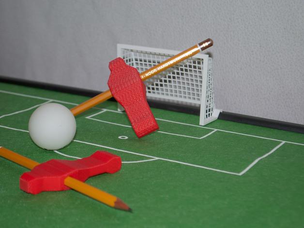 迷你足球场模型 3D打印模型渲染图