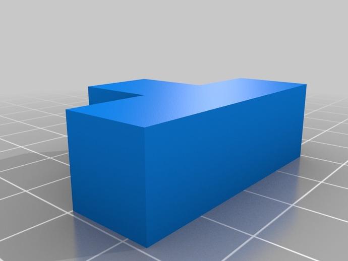 立方体拼图模型