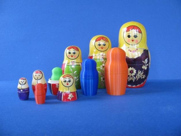 俄罗斯套娃模型