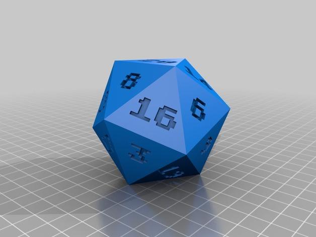 二十面体骰子