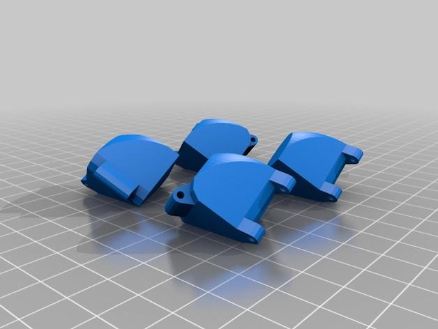 带轴销的折叠立方体