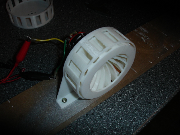 带有540马达的电动警报器 3D打印模型渲染图