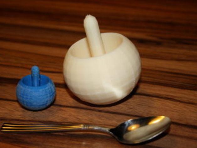 翻身陀螺模型 3D打印模型渲染图
