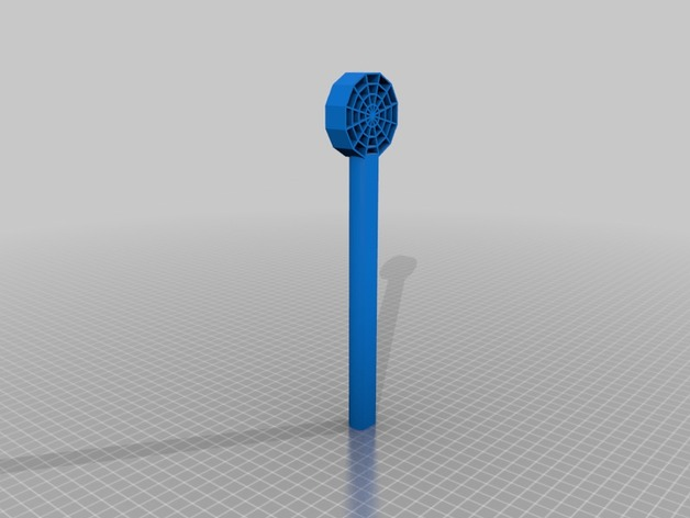 蜘蛛网形魔杖