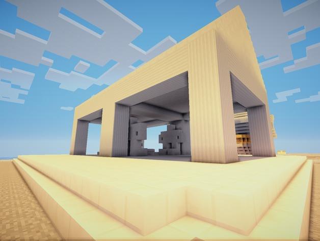 Minecraft:希腊神庙