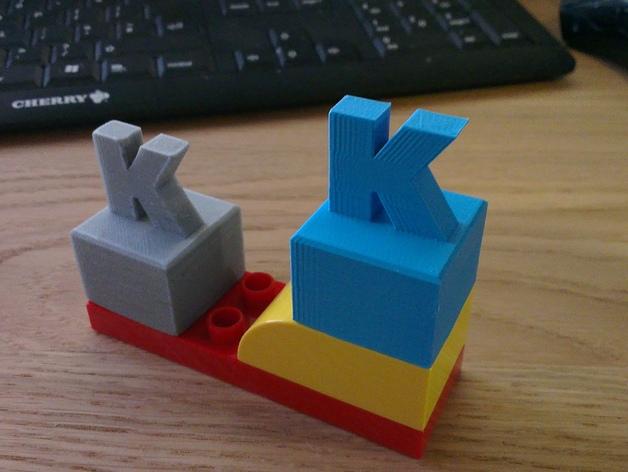 K字形得宝方块