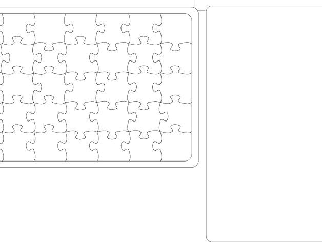 DIY相片拼图模型