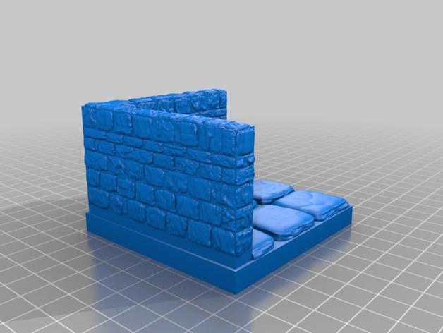 OpenForge地牢墙角模型
