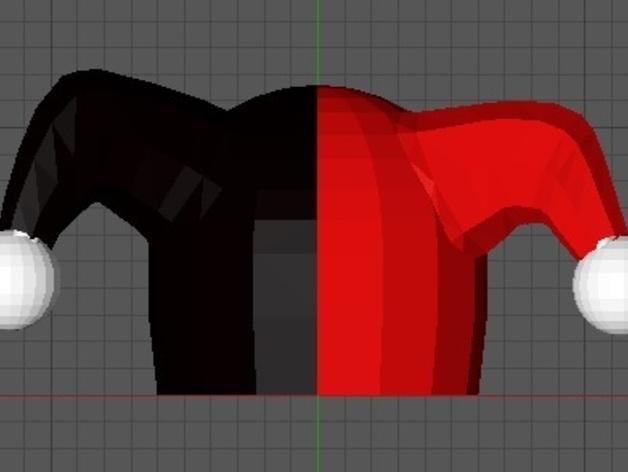 乐高小丑帽模型 3D打印模型渲染图