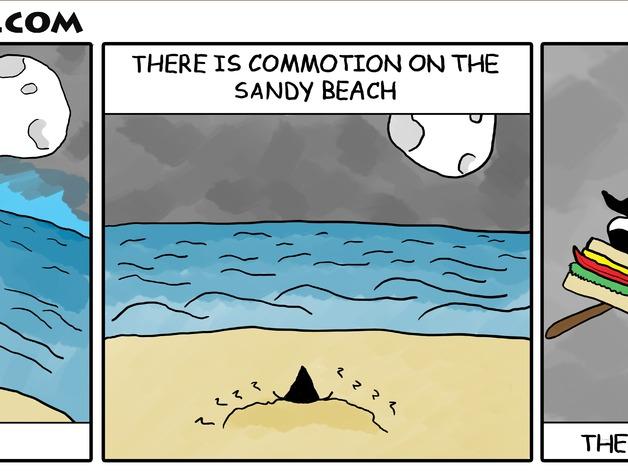 沙滩女巫模型