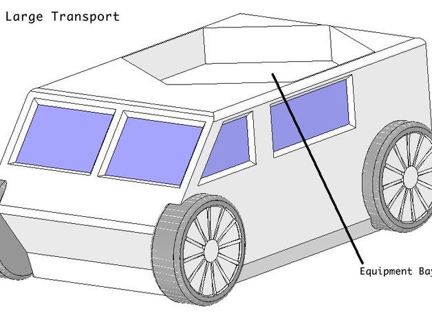 迷你火星基地模型
