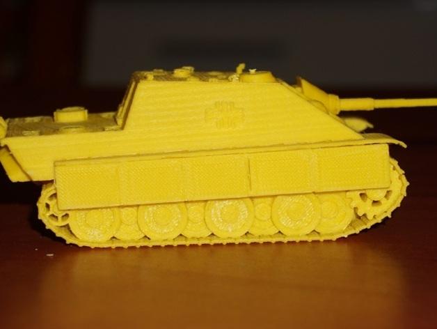 驱逐战车坦克模型