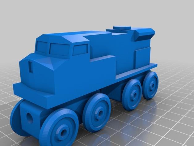 玩具火车柴油发动机模型