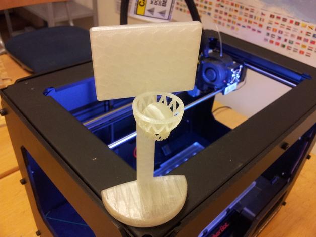 桌面式篮球框 3D打印模型渲染图