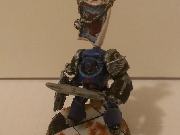 星际战士终结者模型