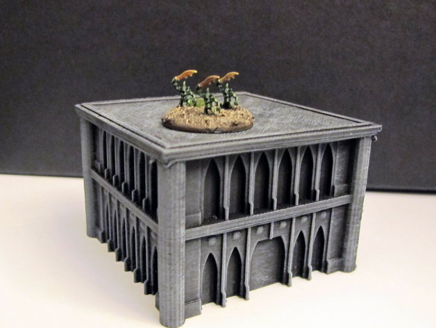 战锤Epic 40k:哥特式建筑