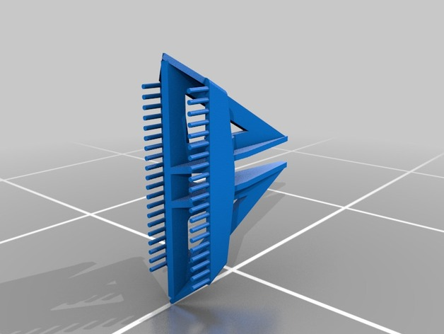 Delta船的船锚模型
