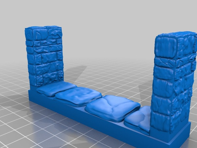 OpenForge地牢走廊模型