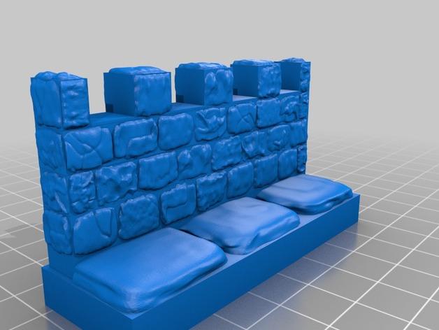 OpenForge雉堞墙
